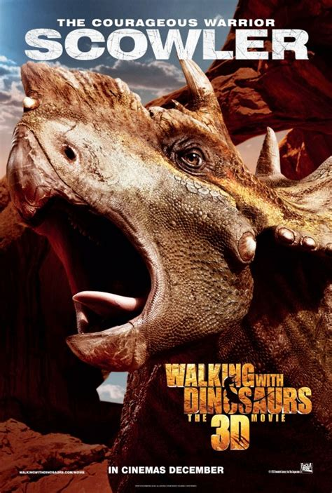 Poster A3 The Dinosaurs Ver 3 walking with dinosaurs 3d poster 9 of 17 imp awards
