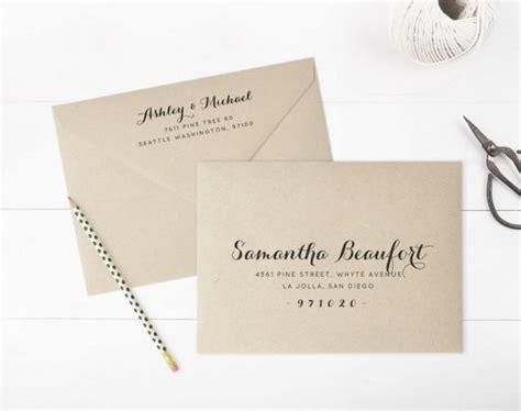 printable envelope address template wedding envelope