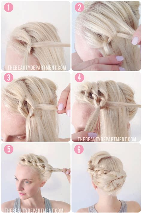 tying of hair the beauty department your daily dose of pretty knot