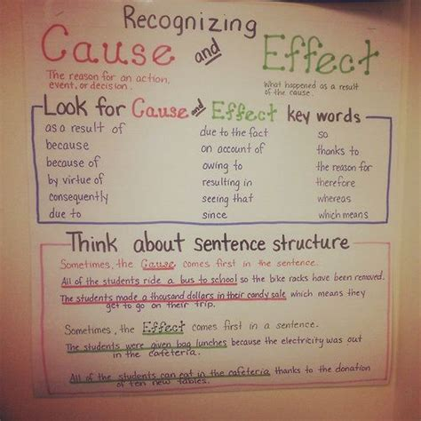 Cause And Effect Essay Topics For Middle School by 1751 Best Images About Reading La Classroom Ideas On Cause And Effect Comprehension