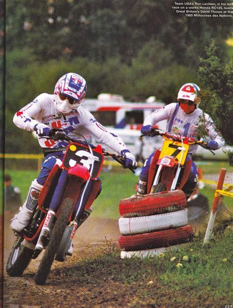 rc motocross ron lechien honda rc 125 factory david thorpe honda rc