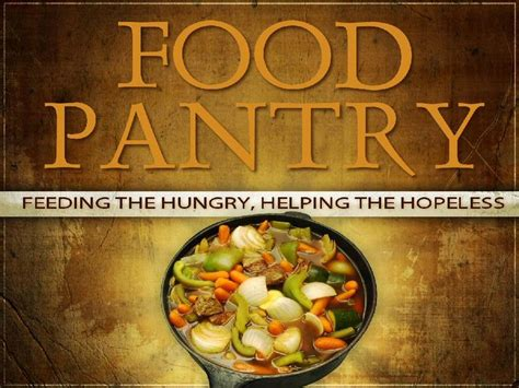 Food Pantry by Evangelical Lutheran Church