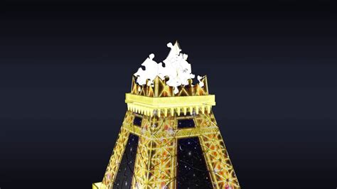 eiffel tower puzzle with lights smyths toys ravensburger 3d eiffel tower puzzle with