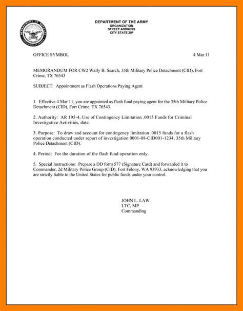 Memorandum Template Us Army 6 Army Memo Format Portfolio Covers