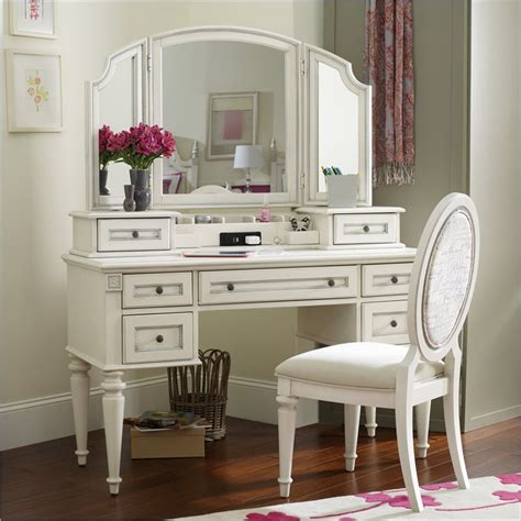 white vanity desk with mirror furniture opus designs vanity desk with