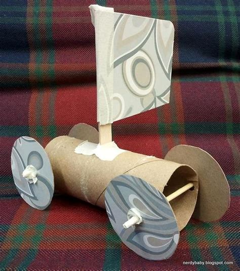 How To Make Toilet Paper From Recycled Paper - nerdy science toilet paper sail cars