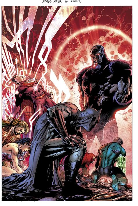 justice league 6 darkseid superman batman wonder woman flash green lantern aquaman and