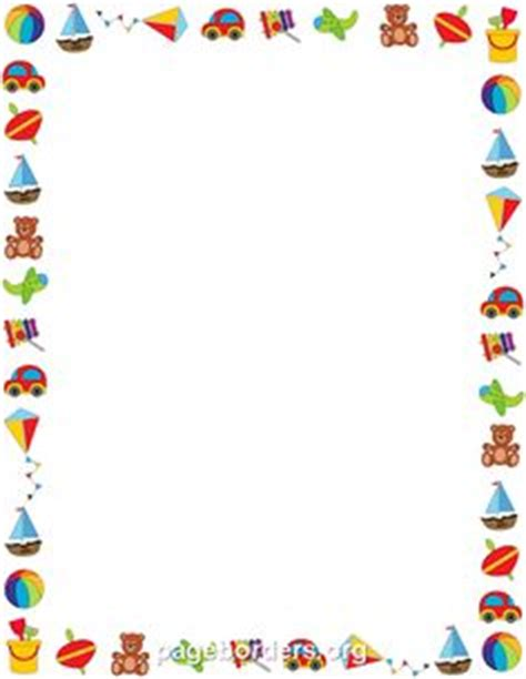 Similiar kite page border keywords kite border clip art 26 voltagebd Image collections