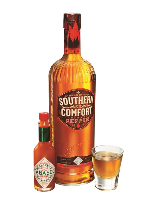 southern comfort handle spicy spirits southern comfort fiery pepper tipple sheet
