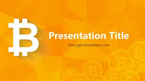 Bitcoin Powerpoint Template Bitcoin Powerpoint Template