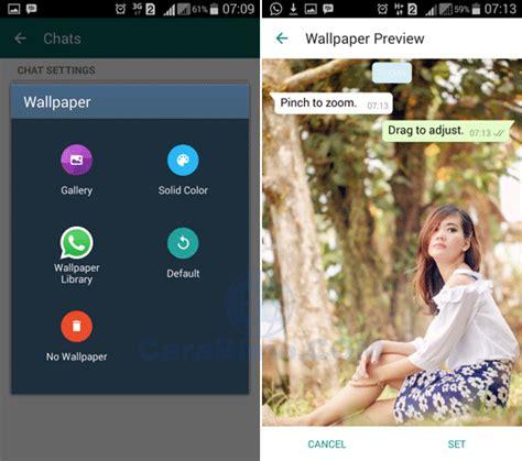 cara ganti wallpaper room chat line bagaimana cara mengubah wallpaper chat whatsapp