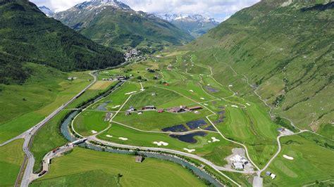 swiss alps golf course in andermatt alpine golf experience