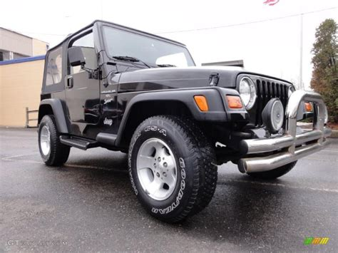 black 1999 jeep wrangler sport 4x4 exterior photo 46804863 gtcarlot