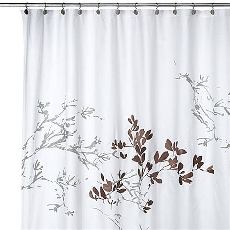 white and brown shower curtain adelaide 72 inch w x 72 inch l fabric shower curtain bed