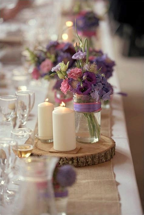 lavender centerpieces for weddings best 25 rustic purple wedding ideas on