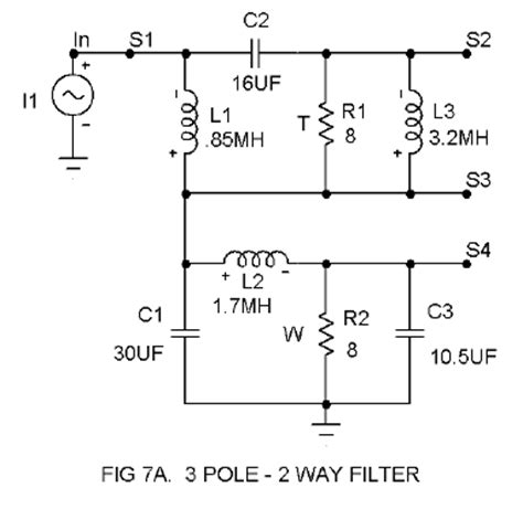 high pass filter tweeter high pass filter tweeter 28 images 187 crossover eq third order passive crossovers 18 db