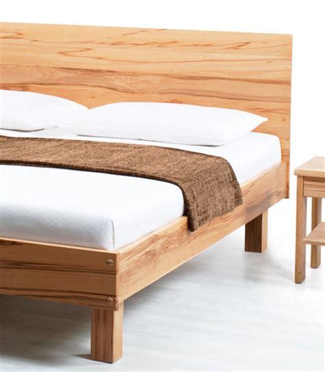letto in legno massello letto legno massello line la casa econaturale