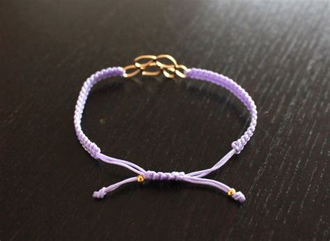 Macrame Bracelet Knots - best 25 adjustable knot ideas on diy