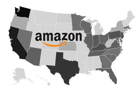 amazon united states united states of amazon in 2017 interactive graphic shows