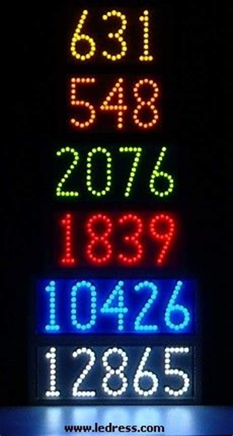 led house numbers 1000 images about led lighted house numbers by ledress on