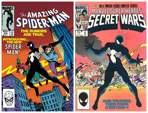 the in the black suit books the amazing spider spider black suit symbiote suit