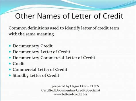 Letter Of Credit Fee Definition What Is Letter Of Credit Presentation 3 Lc Worldwide International Letter Of Credit