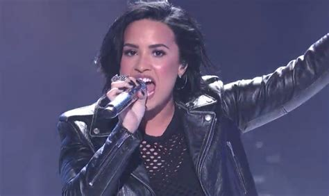 confident by demi lovato meaning demi lovato performs confident with american idol top