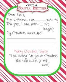 Tutus manic monday freebie santa letter secret santa wish list form