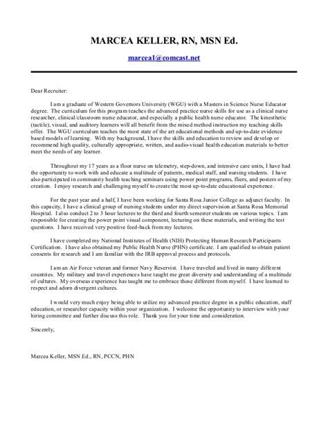 Cover Letter For Comcast by Educator Cover Letter 2014