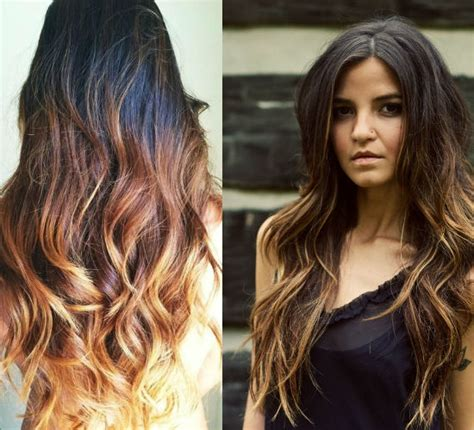 2015 colour hair trends top 7 best black ombre hair color ideas vpfashion