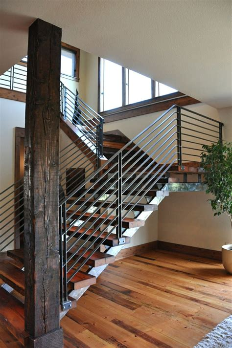 modern banister rails modern stair railings for the home ideas pinterest