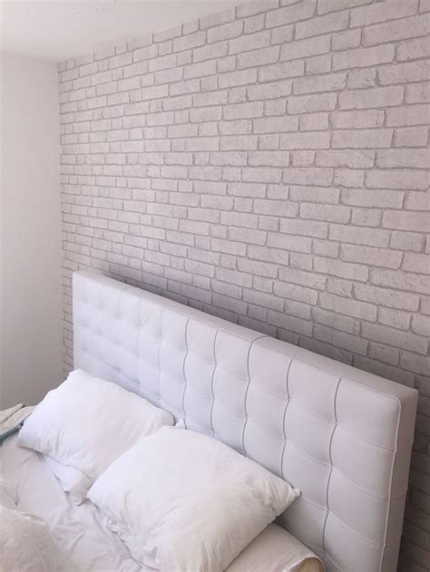 white brick wallpaper bedroom best 25 wall wallpaper ideas on pinterest silver