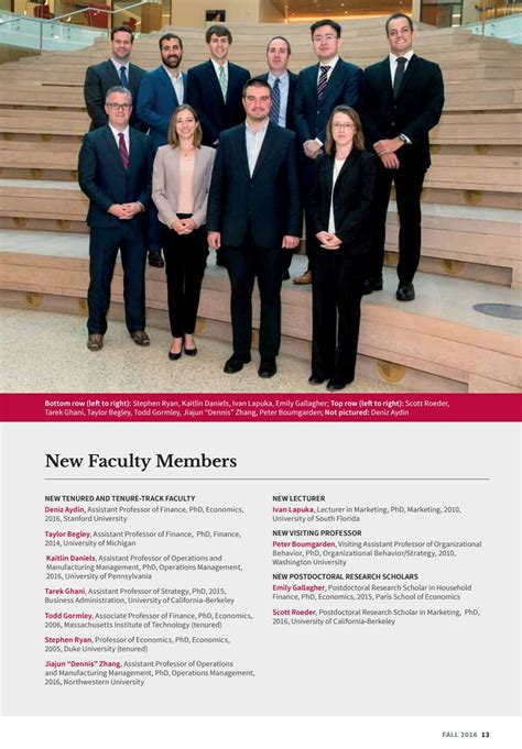 Olin Mba Waitlist Strategy by Olin Business Magazine 2016 By Olin Business School Issuu