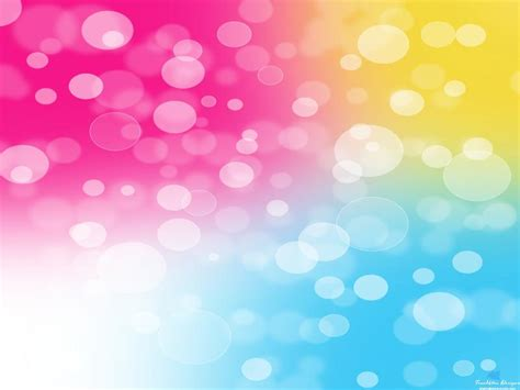 colorful bubbles photo template backgrounds  powerpoint