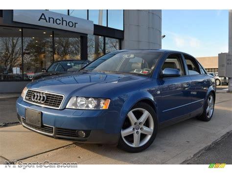2003 audi a4 1 8t quattro 2003 audi a4 1 8t quattro sedan in denim blue pearl effect