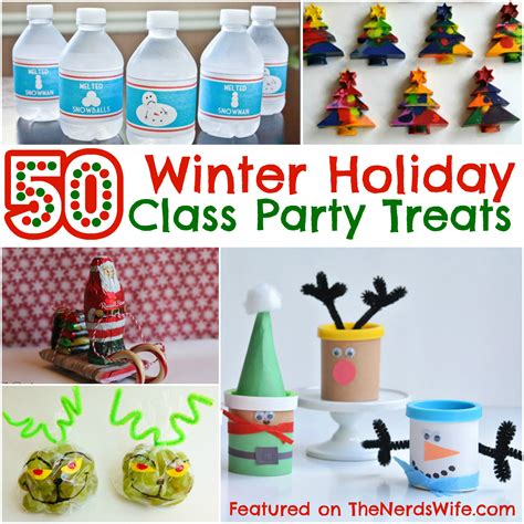 christmas ideas for class 50 winter class treats