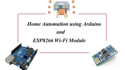 arduino based wi fi enabled home automation using esp8266