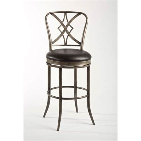 winsome wood 946 faux leather swivel bar stool set of 2 outdoor