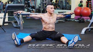 Tongkat Barbel floor stick twist reps indonesia fitness healthy lifestyle