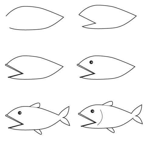 How To Draw Fish Drawing Fish
