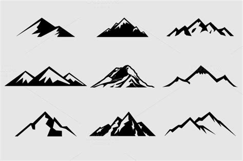 check out mountain shapes for logos vol 1 by lovepower on