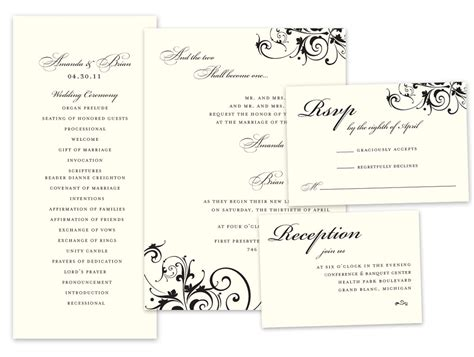 Wedding Invitation Response Card