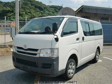 2008 Toyota Hiace For Sale Used 2008 Toyota Hiace Dx Adf Kdh201v For Sale
