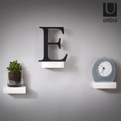 umbra showcase shelves mini white floating shelves