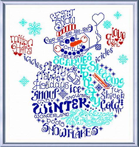 cross stitch pattern maker words let s be jolly cross stitch pattern words