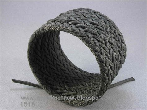 Braiding Cord Patterns - knots and fiber bracelets paracord wide hybrid weave cuff