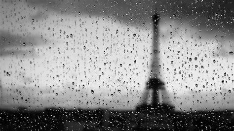 wallpaper black rain eiffel tower water black and white rain drops wallpaper