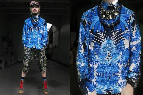 Aneka T Shirt 3 Dimensi Casual A004 andre judd brocade boots h custodio zara palm print and floral print mix