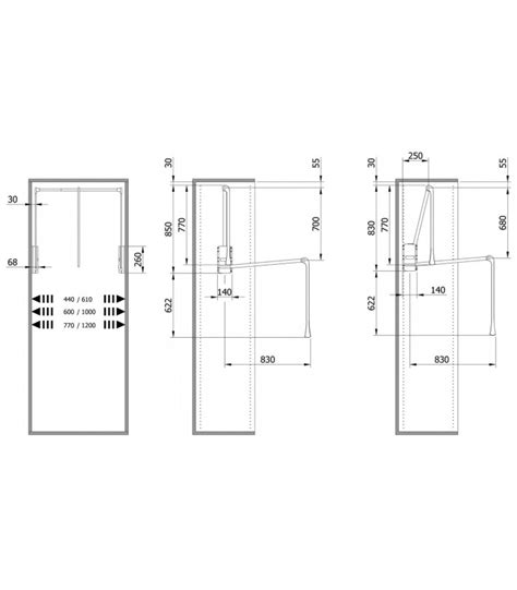 appendiabiti per armadio saliscendi appendiabito saliscendi per armadio servetto2004 cm 44 61