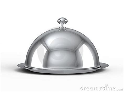 cloche cuisine restaurant cloche royalty free stock photography image